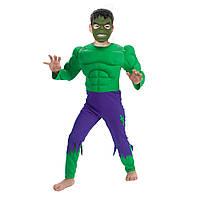Маскарадный костюм Халк объемный (размер М)