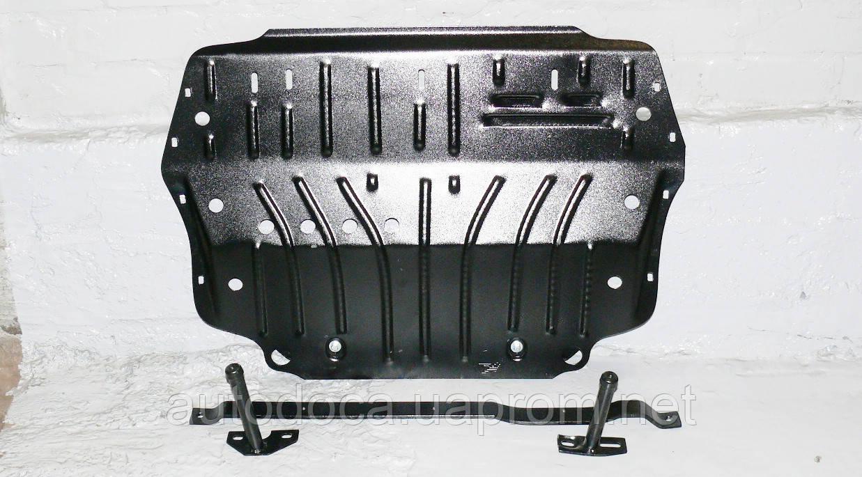 Защита картера двигателя и кпп  Volkswagen Caddy 2003-