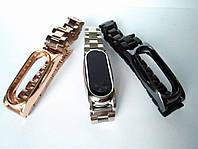 Стальной браслет Xiaomi mi band 2 (с крупными звеньями)