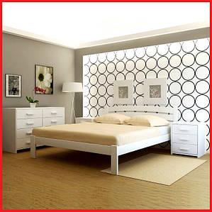 Кровать деревянная Мадрид-ольха (Анабель)