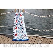 Велюровое полотенце Lotus пляжное Anchorage 75*150