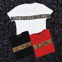 Женская футболка D&G, фото 1