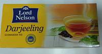 Чай черный Lord Nelson Darjeeling, 25 пак. (Германия)