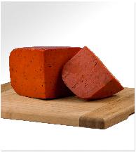 Сыр Гауда Песто красный 4,5 кг 50% Huizer Kaas Gild