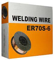Проволока сварочная омедненная 0.8мм - 5кг AWS ER70S-6