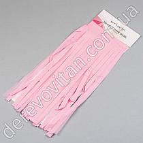 Кисточка для тассел-гирлянды, розовая, 6 шт., 35 см