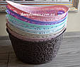 Корзинка ажурная Tuppex, Турция TP-8054, розовая, фото 3