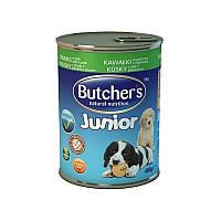 Butcher`s Basic Junior ЯГНЕНОК - консервы для щенков и молодых собак (400 гр)