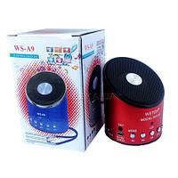 Портативная FM MP3 колонка WS-Q10 Bluetooth, фото 1