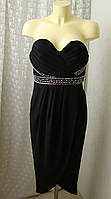 Платье маленькое черное вечернее Tfnc London р.44-46 7714, фото 1