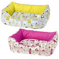 Ferplast COCCOLO Хлопковый диван для кошек и маленьких собак (55 x 45 x 20 см)