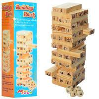 Настольная Деревянная Мини Игра Вега Джанга Башня, MD 1156, 006679