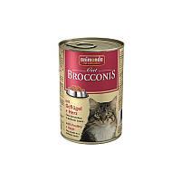 Влажный корм Animonda Brocconis для котов с птицей и сердцем (400 гр)