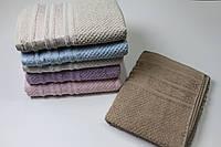 Махровое полотенце - сауна. (90*150). 100% Хлопок.