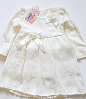Платье для девочки вязанное Lili, Венгрия р (1) 86-92 рост