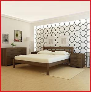 Кровать деревянная Франкфурт-ольха (Анабель)