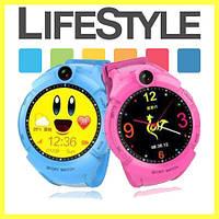 Детские умные часы Smart baby watch Q360 c GPS, камерой и фонариком!.Спинер в Подарок