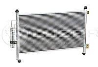 Радиатор кондиционера Хонда Цивик Honda Civic 5D 1.3/1.8 (06-) АКПП/МКПП с ресивером 80110-SMG-E01