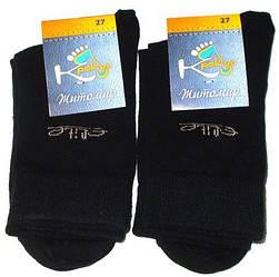Носки хлопок Житомир размер 27 черные