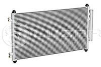 Радиатор кондиционера Хонда Honda CRV 2.0/2.4 (06-) с ресивером (80110-SWA-A01)