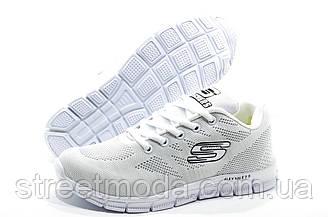 Кроссовки женские в стиле Skechers, Белые