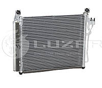 Радиатор кондиционера Киа Пиканто / Kia Picanto 1.1 (04-) АКПП/МКПП (97606-07500 / 97606-07550)