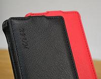 Кожаный чехол-флип BRUM для Sony Xperia SP M35h C5302 C5303 черный