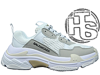 Женские кроссовки Balenciaga Triple S Trainers White/Grey