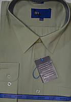 Батальная салатовая мужская рубашка (размеры 48.49.50)