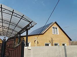 Тростянец солнечная электростанция домашняя под зеленый тариф 5,2 кВт Сумская обл.