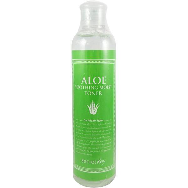 Увлажняющий тонер для лица с экстрактом алоэ Secret Key Aloe Soothing Moist Toner