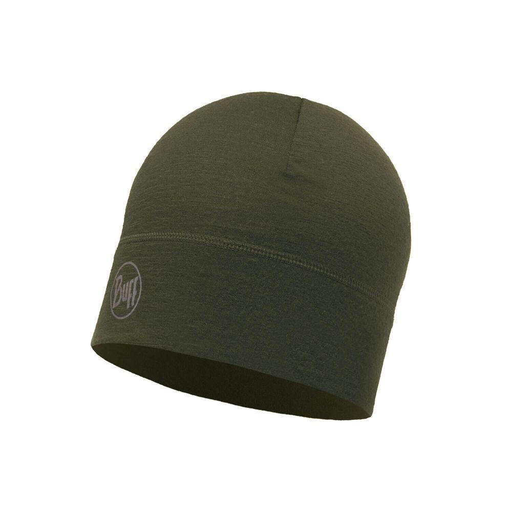 Шапка Buff® Merino Wool One layer Hat Solid Cedar (111476.847.10.00)