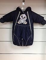 Комбинезон-трансформер Panda синий, фото 1