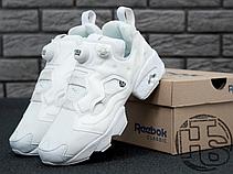 Женские кроссовки Reebok InstaPump Fury All White AR2199, фото 3