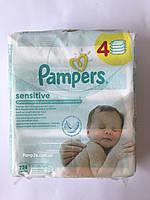 Влажные салфетки Pampers Sensitive 224 шт (4х56 шт)