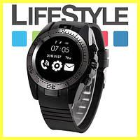 Умные часы Smart UWatch SW007 (SIM-карта, Micro-SD, ремешок каучук). АКЦИЯ! Скидка 30%