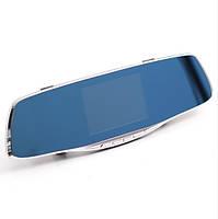"""Зеркало - видеорегистратор 4.3"""" дюйма на 2 камеры с видеопарковкой (3 в 1)"""