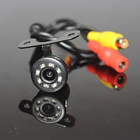 Камера заднего вида в авто Бабочка с диодами, фото 1