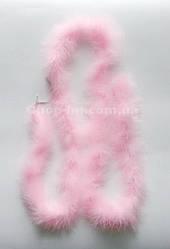 Боа розовое (длина 200 см)