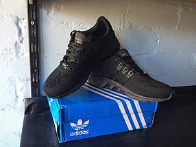 Кроссовки мужские Adidas SUPPORT.Черные, фото 3