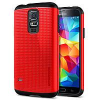 Чехол Spigen SGP Slim Armor Dante Red для Samsung Galaxy S5