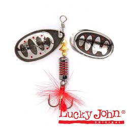 LJBB00-004 Блесна вращ. LUCKY JOHN Bonnie Blade #0