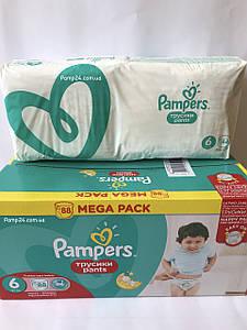 Трусики Pampers Pants 6 Extra Large 44 шт. (15+ кг.)  Universal (Unisex)