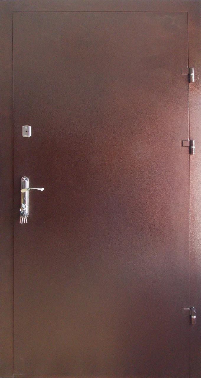 Утепленные  входные двери Редфорт метал/метал на улицу