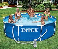 Каркасный бассейн Intex Metal Frame Pool 28200