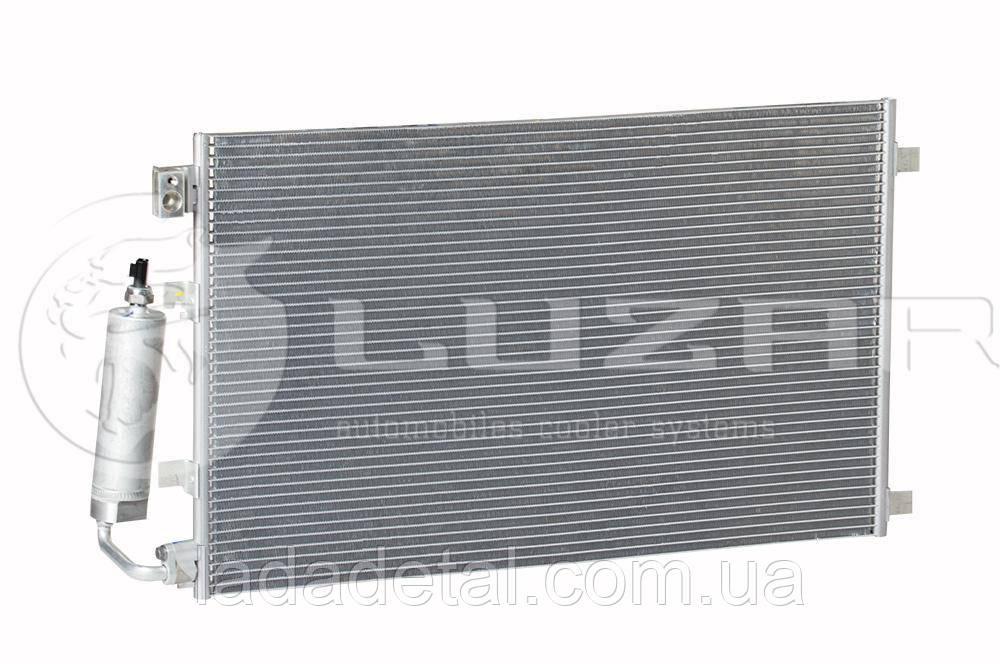 Радиатор кондиционера Нисан Кашкай Qashqai 2.0 (06-) АКПП,МКПП (92100-JD200 / 92100-JD20A)