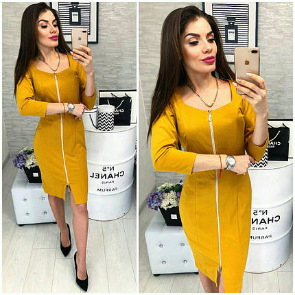 Красивое желтое платье, фото 2