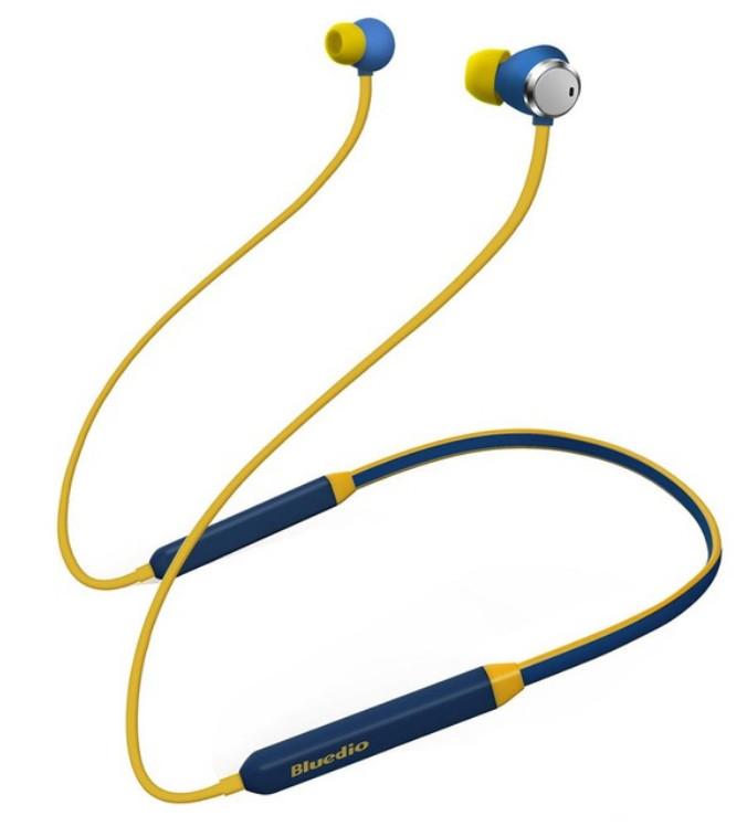 Bluetooth-навушники Bluedio TN (сині)