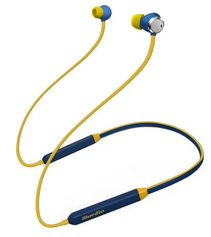 Bluetooth-навушники Bluedio TN (сині), фото 2