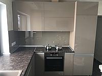 Кухня под заказ крашеное стекло одесса, фото 1